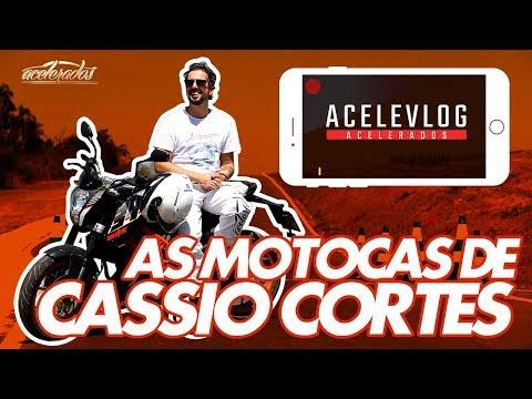 HARLEY, BMW, DUCATI... CASSIO REVELA TODAS AS SUAS MOTOS! ACELEVLOG #23