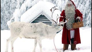 Interview après Noël du Père Noël en Laponie - entretien du Papa Noël à Rovaniemi en Finlande