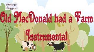 Old Macdonald had a farm - Instrumental - kid song lyrics - Lieder zum Mitsingen - Kinderlieder