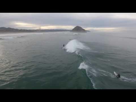 Morro Bay Surfing 12/30/2016