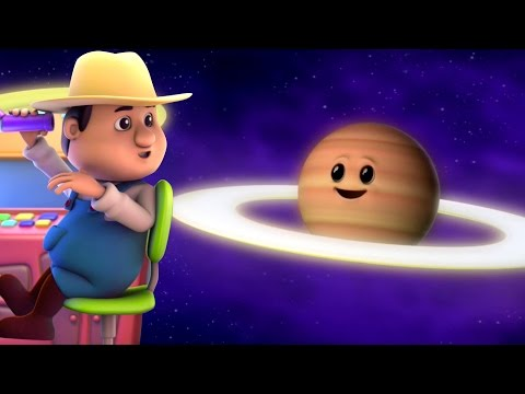 pianeti canzone | canzoni per bambini | sistema solare canzone | Kids Learning | Planets Song