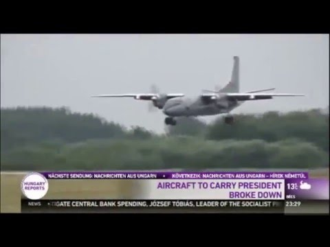 Plane Carrying Hungary's President Breaks Down