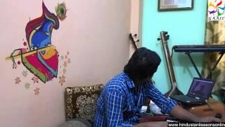 krishna bhajans hindi devotional singing lessons guru online skype vocal classes india