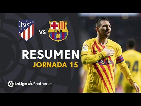 Resumen de Atlético de Madrid vs FC Barcelona (0-1)