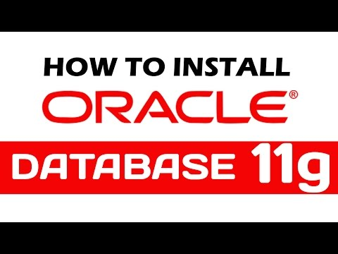 How To Download/install Oracle Database (software) 11g Release 2 On Windows 10 Pro 64 Bit