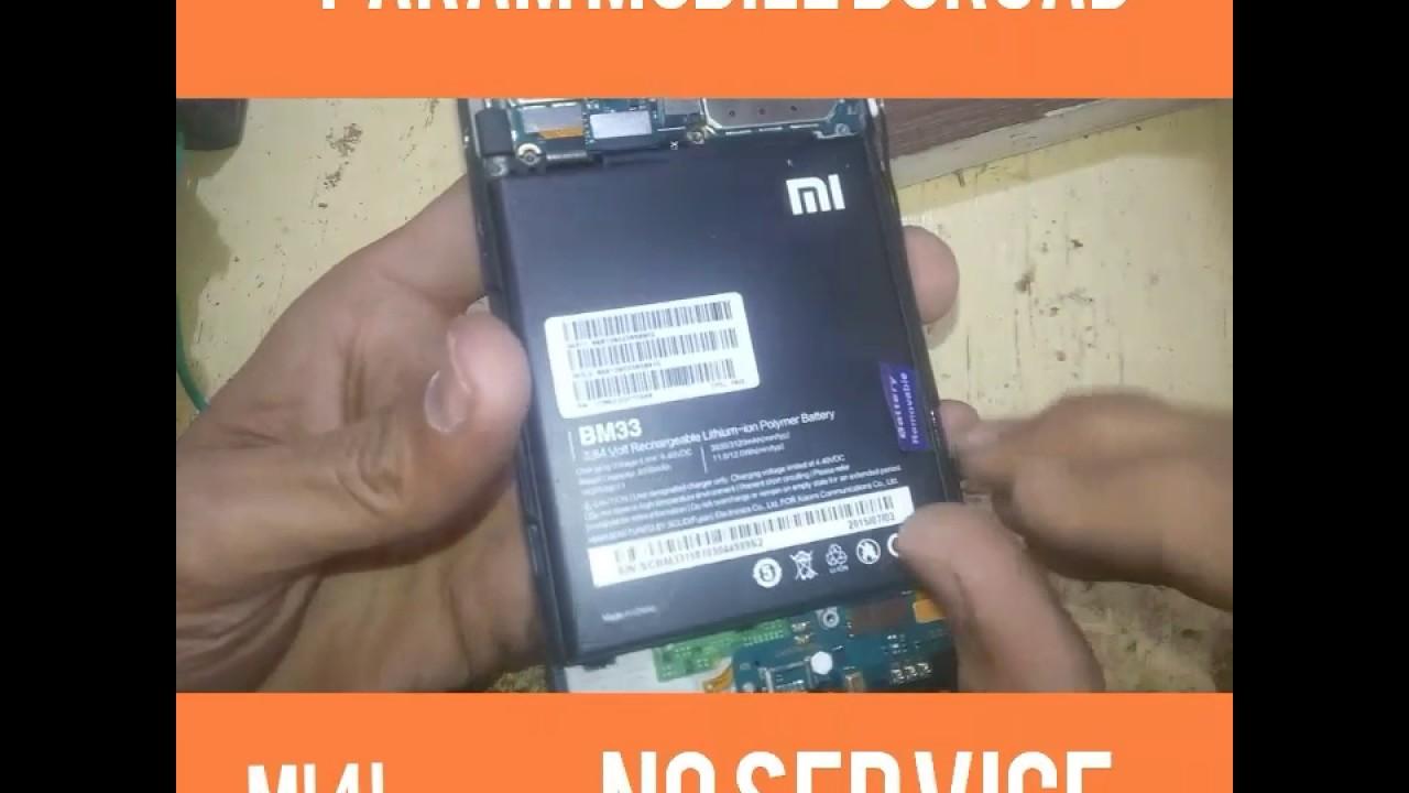 Xiaomi Mi4i 2015015 No Service no network