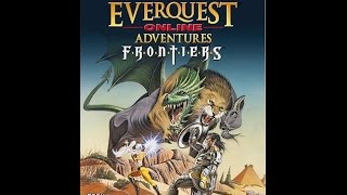 Everquest Online Adventures Frontiers: Male Race Selection Screen