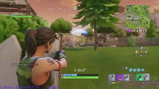 Fortnite Intense Solo Squad Game 14 kills w/ reactions