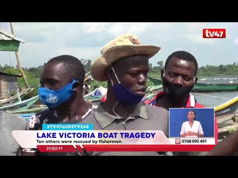 10 people feared dead after boat capsized in Lake. Victoria