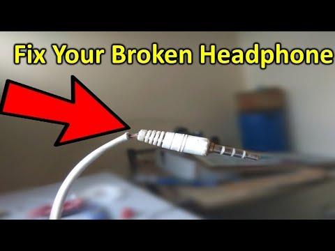 How to fix broken headphone/earphone/lead In hindi/Urdu By RcmT