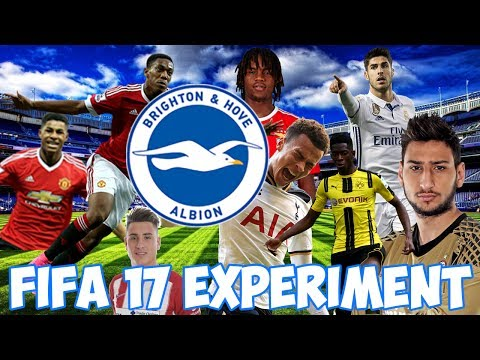 CAN THE WONDERKIDS TAKE BRIGHTON TO CHAMPIONS LEAGUE GLORY? - FIFA 17 CAREER MODE EXPERIMENT