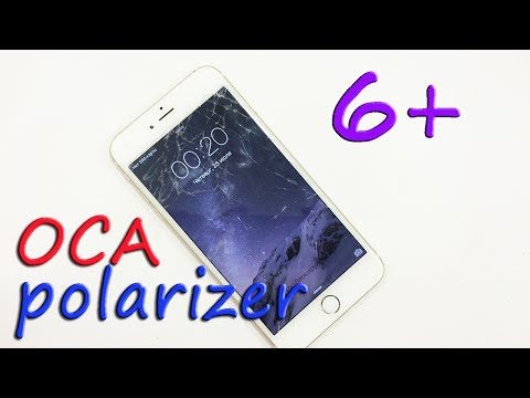 Ремонт Iphone 6 plus замена стекла на OCA пленки