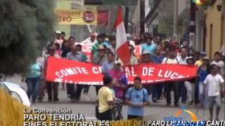 Baixar Cusco: Paro en La Convención tendría trasfondo político