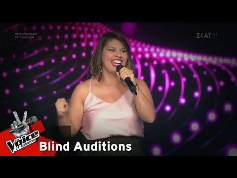 Λαμπρινή Αννίση – Think of Me | 17o Blind Audition | The Voice of Greece