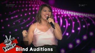 Λαμπρινή Αννίση - Think of Me | 17o Blind Audition | The Voice of Greece