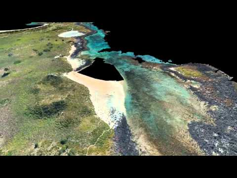 Griffiths Island UAV survey and photogrammetry data