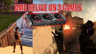 RX 570 RELIVE VIDEOS! CS:GO, Fortnite, Insurgency...