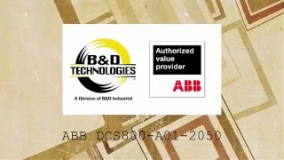 ABB DCS800-A01-2050(B&D Technologies -- Applications -- It is always interesting to see a drive application (in this case a 2000 amp ABB DCS800 drive) mimic something else., 2016-03-14T12:37:25.000Z)