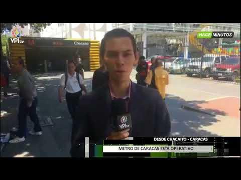 Venezuela. Metro de Caracas restableció su servicio -VPItv