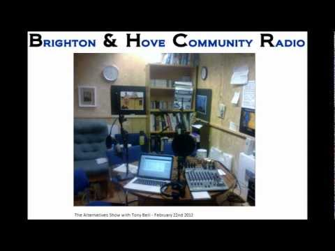 Alternatives Show with Tony Bell Interview - 22/02/12
