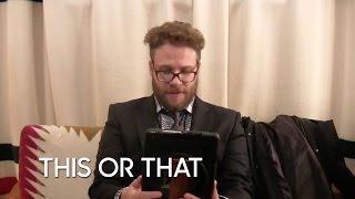 Would You Rather: Seth Rogen (Live on Meerkat)
