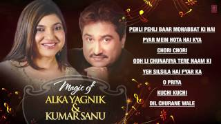 "Magic of ""Alka Yagnik & Kumar Sanu"" Superhit Bollywood Songs 