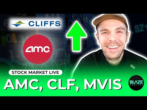 AMC Stock LIVE 📈 SHORT SQUEEZE STOCKS! [ORPH, CLF, GME, OCGN, MVIS, MDLY, MEDS]