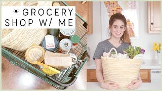 Shop with Me! Low Waste Vegan Groceries | Alli Cherry