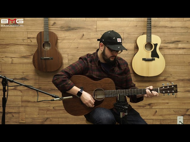 AMI (Sigma) 00M-15 Acoustic Guitar Overview