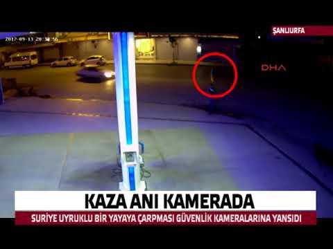 Siverek'te Kaza anı kamerada