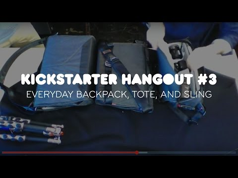 The Everyday Backpack, Tote, and Sling Hangout #3