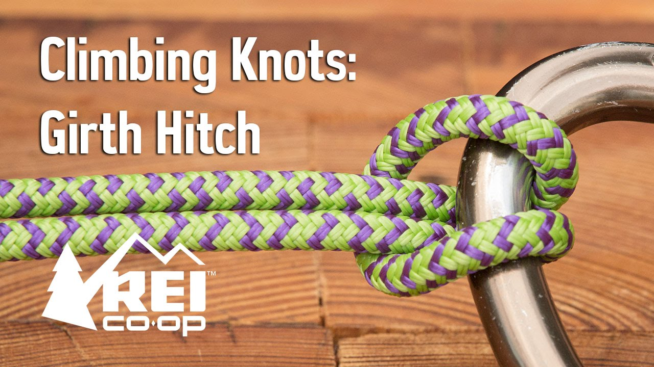 how to make a girth hitch