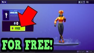 HOW TO GET CRISS CROSS EMOTE FOR FREE! (Fortnite Old Emotes)