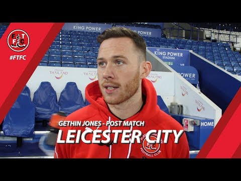 Gethin Jones after Leicester loss | Post Match