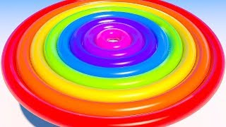 Learning Colors with 3D Rainbow Torus for Kids Children and Toddlers