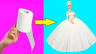 DIY Barbie Ideas and Crafts | Making Easy Hacks For Barbie Doll | Creative Fun For Kids
