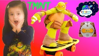 Teenage Mutant Ninja Turtles Remote Control Skateboarding Mikey toy for kids Walmart Exclusive