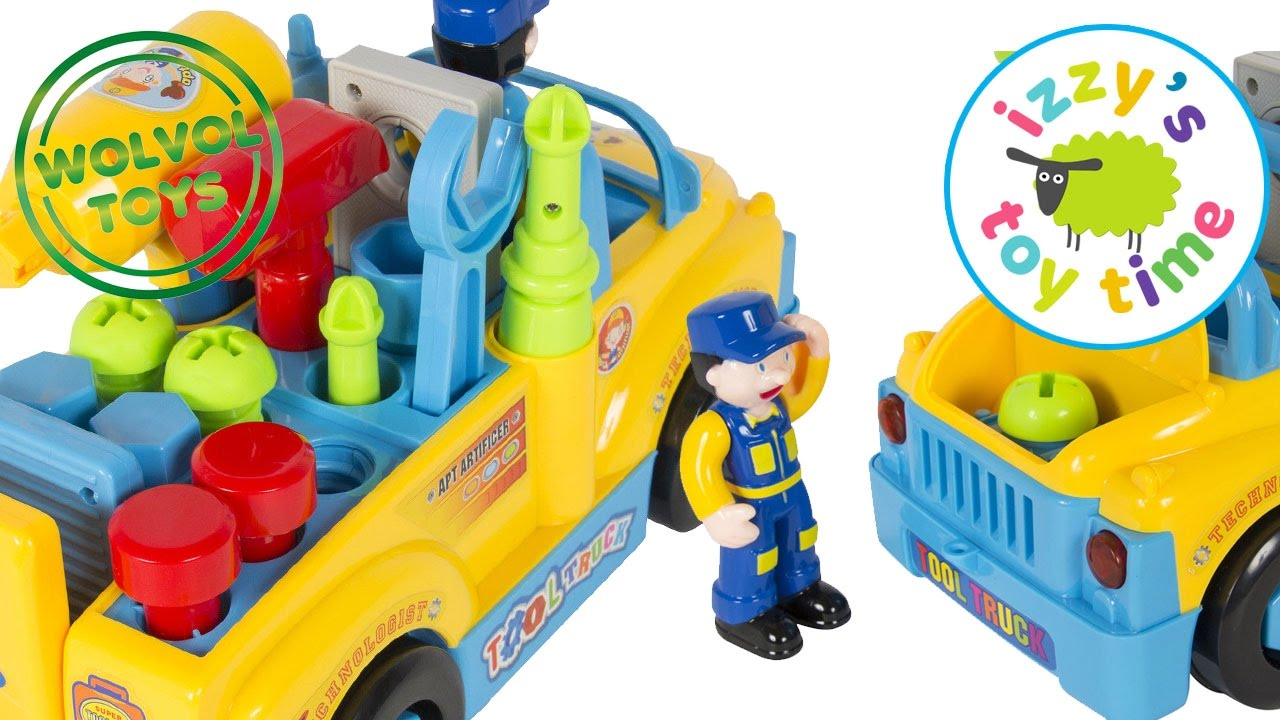 cars for kids wolvol truck tools toy playset construction toys
