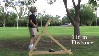 5 arm MURLIN trebuchet trials