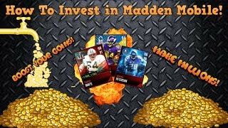 How to Invest in Madden Mobile 17! Make Millions Fast!