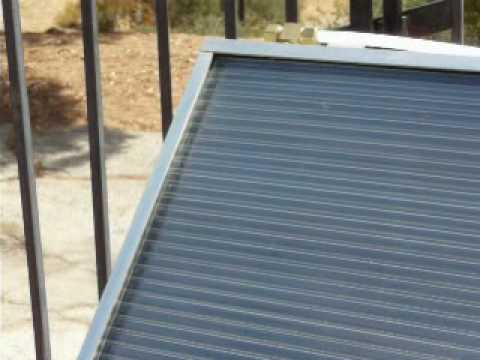 Demonstration of Heliatos Solar Water Heater System