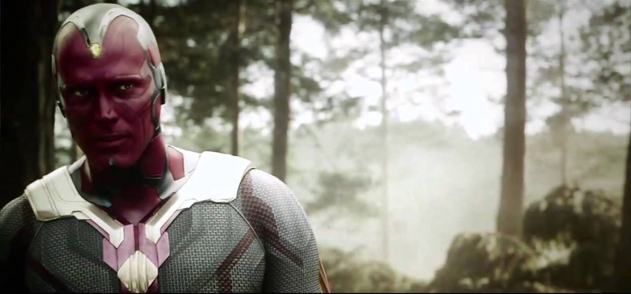 vision and ultron avengers age of ultron youtube