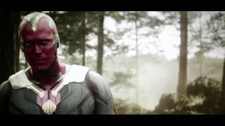 Vision and Ultron - Avengers: Age of Ultron