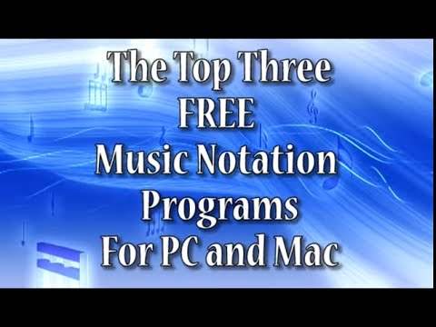 Top 3 FREE Music Notation Software Programs 2015