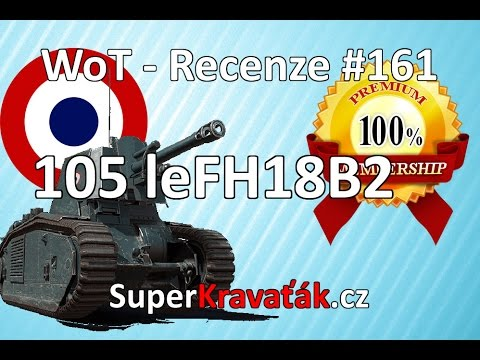 World of Tanks CZ - 105 leFH18B2 (recenze #161)