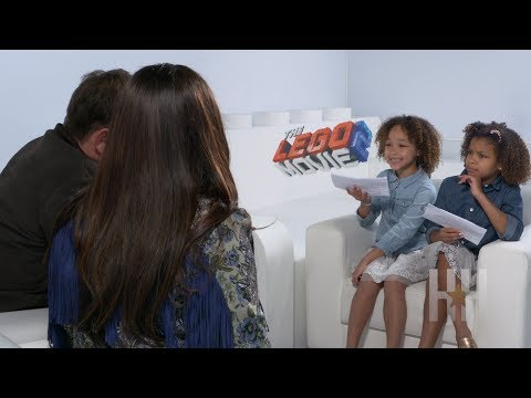 Watch: Dani And Dannah Interview The Cast Of 'The Lego Movie 2'
