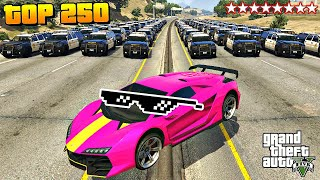 TOP 250 FUNNIEST FAILS IN GTA 5 ( Funny Moments GTA 5 )
