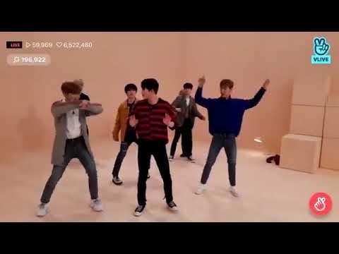 Monsta X Dancing To WJSN - Save Me Save U