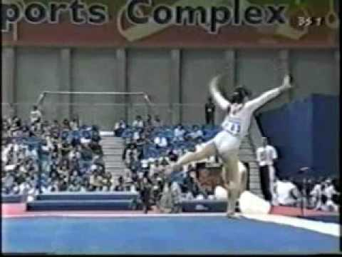 1998 Asian Games Women's Artistic Gymnastics Floor Final