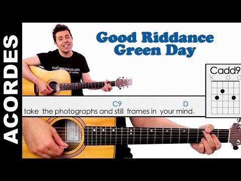 Good Riddance ( Time Of Your Life ) Guitar Chords Acordes guitarra Green Day